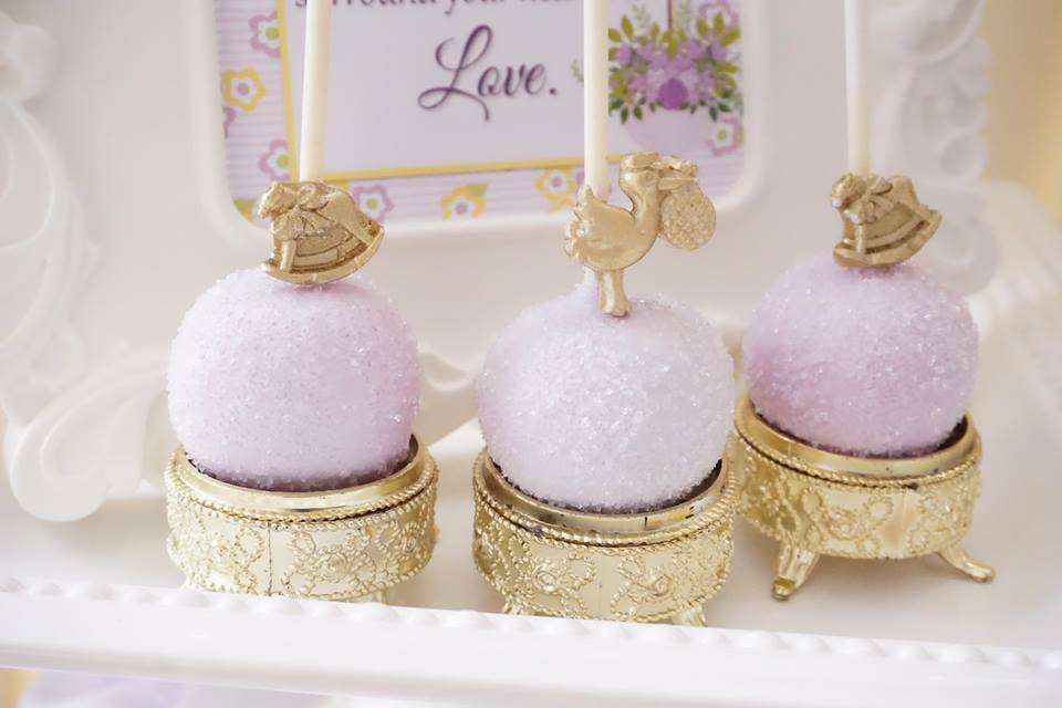 Elegant yellow and purple baby shower baby shower ideas Elegant baby shower decorations