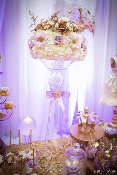 Golden Enchanting Princess Baby Shower Baby Shower Ideas