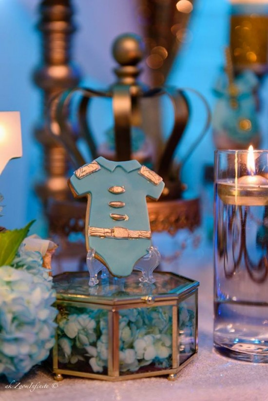 Golden Glamorous Prince Baby Shower Baby Shower Ideas Themes Games