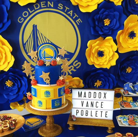 Golden State Warriors Mvp Baby Shower Baby Shower Ideas