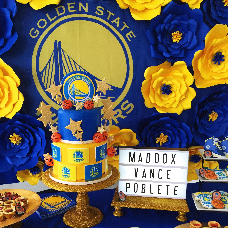 Golden State Warriors Birthday Cake