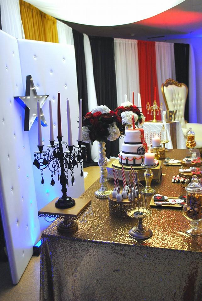 Chic Hollywood Red Carpet Baby Shower Baby Shower Ideas