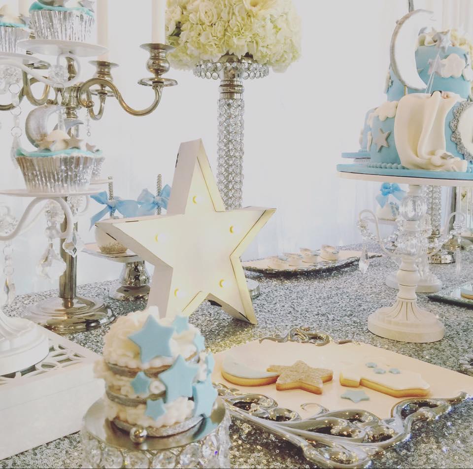 Elegant Twinkle Twinkle Little Star Cupcakes