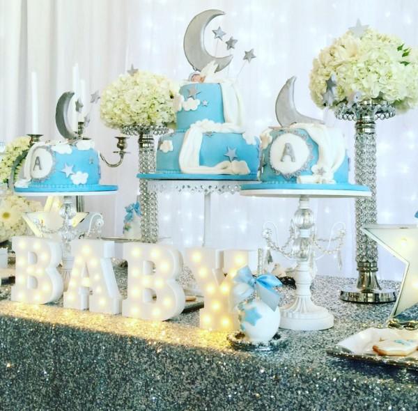Elegant Twinkle Twinkle Little Star - Baby Shower Ideas ...