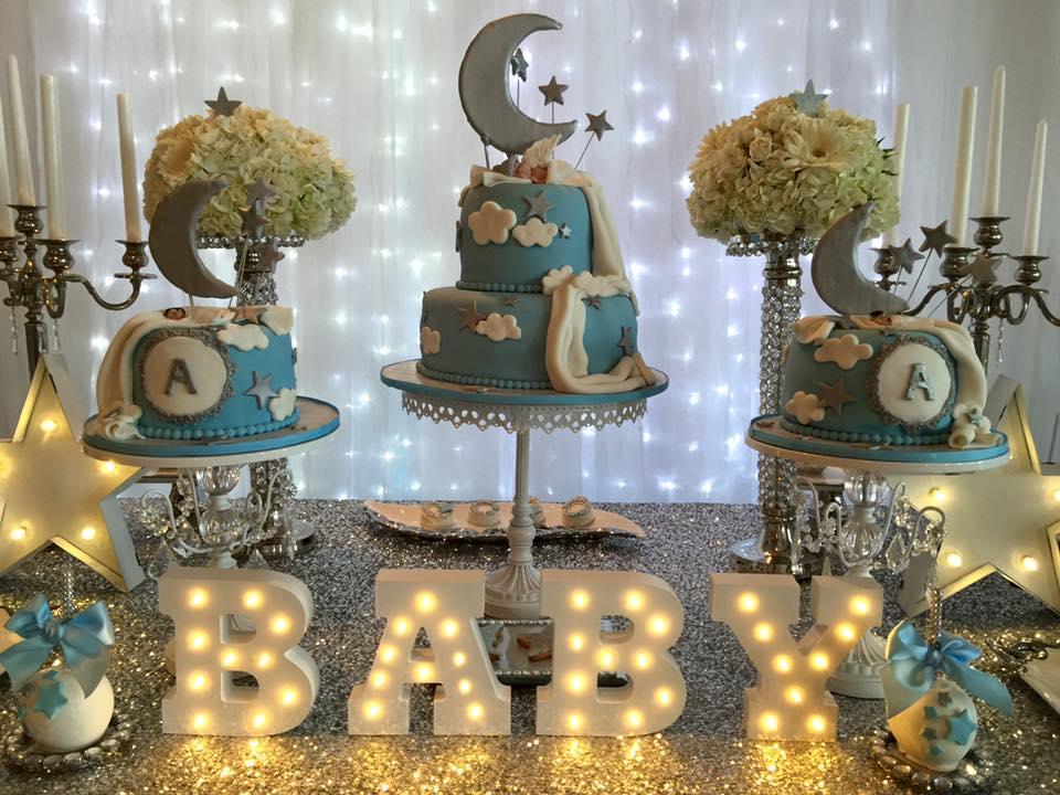 Elegant Twinkle Twinkle Little Star Dessert Table Illuminated