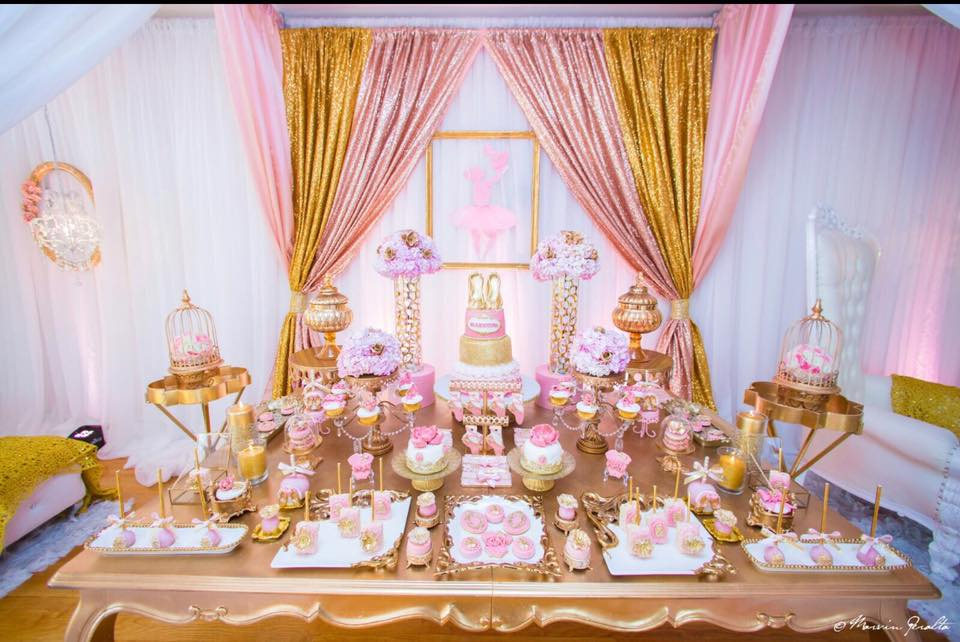 Baby Shower Ideas In Pink And Gold sweet pink & blush baby shower - baby shower ideas - themes - games