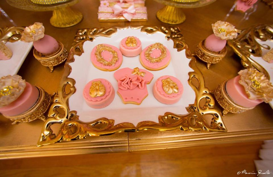 Sweet Pink And Blush Baby Shower Treats Baby Shower Ideas Themes