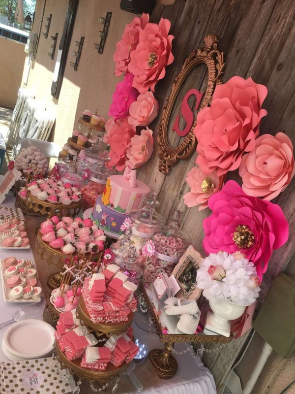 elegant pink flower baby shower baby shower ideas themes games