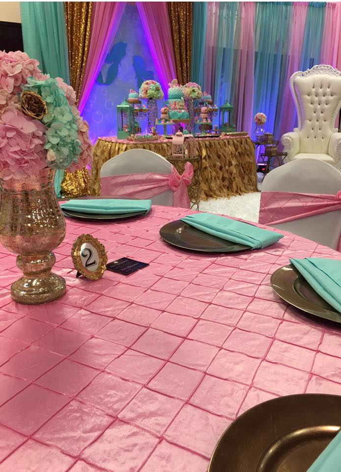 ... Mythical Mermaid Baby Shower Guest Seating ...