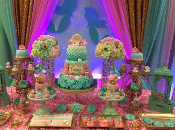 Mythical Mermaid Baby Shower Ideas Themes