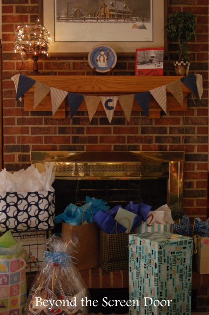 Baseball Baby Shower Presents