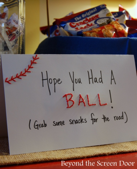 ... Baseball Baby Shower Thank You Sign ...