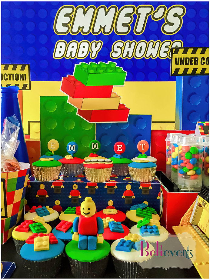 Lego Construction Baby Shower Baby Shower Ideas Themes