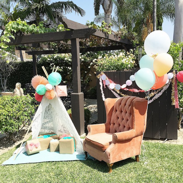 Modern Boho Baby Shower Ideas Themes Games