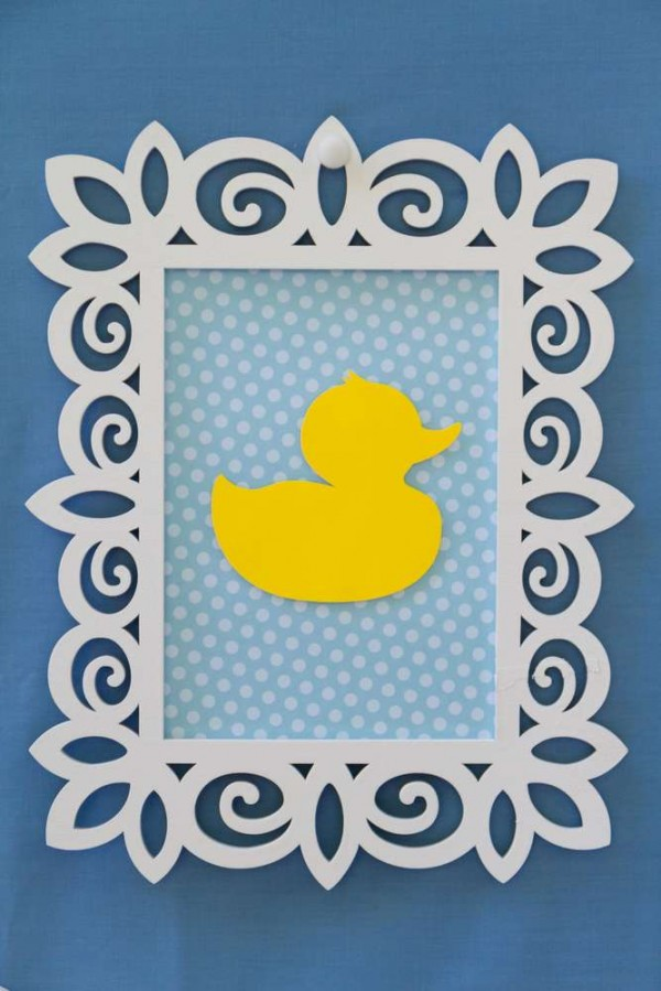 sweet rubber ducky shower - baby shower ideas - themes