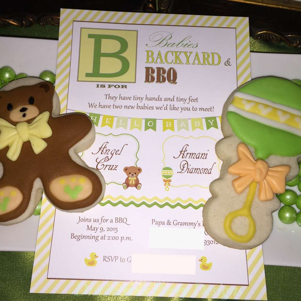 ... Sweet Teddy Bears Baby Shower Invitations ...