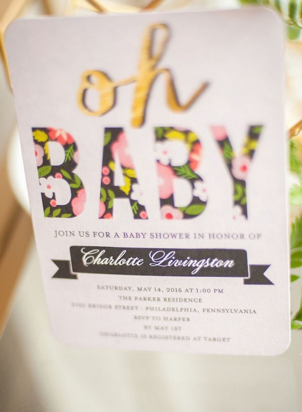 Whimsical Geometric Baby Shower Baby Shower Ideas