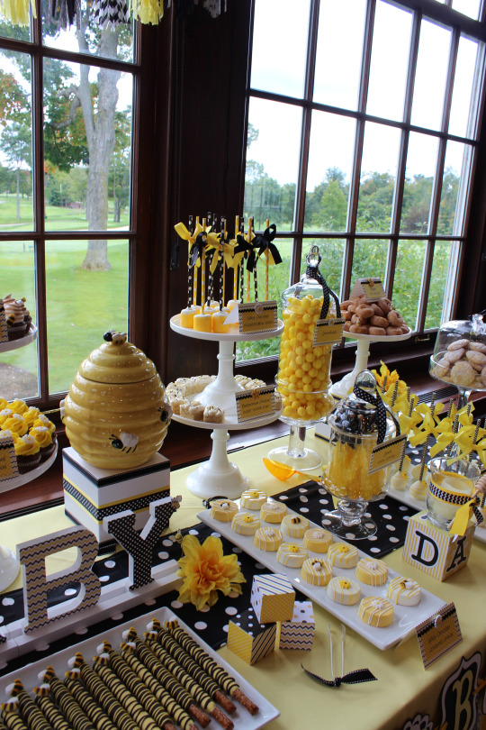 Blissful Bumble Bee Baby Shower Baby Shower Ideas