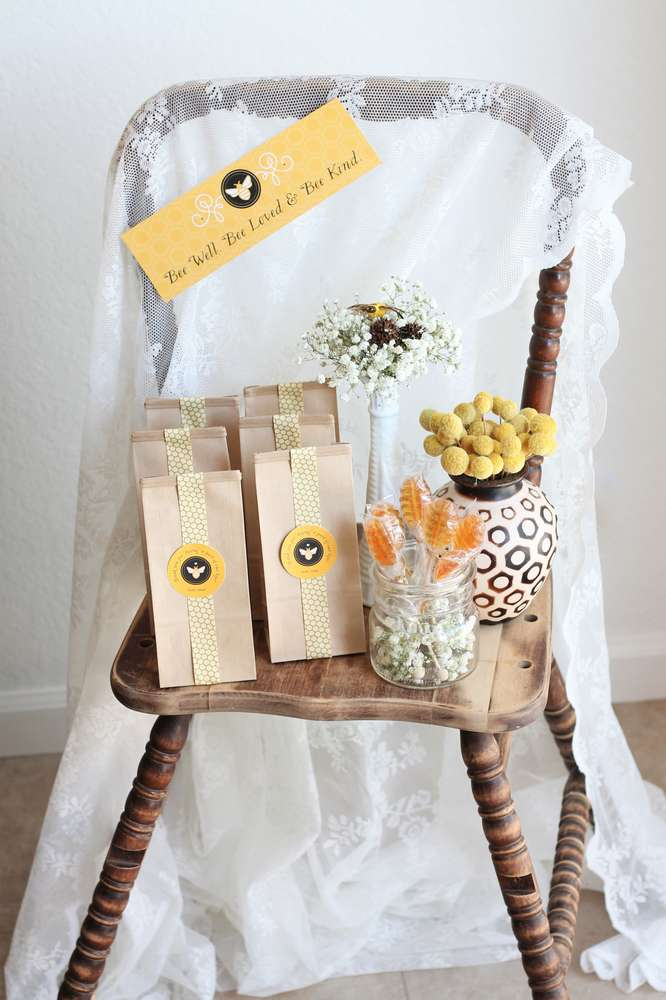 Bright Bee Loved Baby Shower Baby Shower Ideas Themes