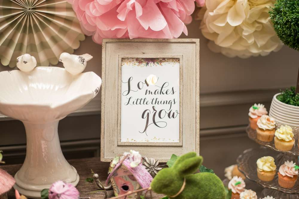 charming garden baby shower rustic art baby shower ideas themes