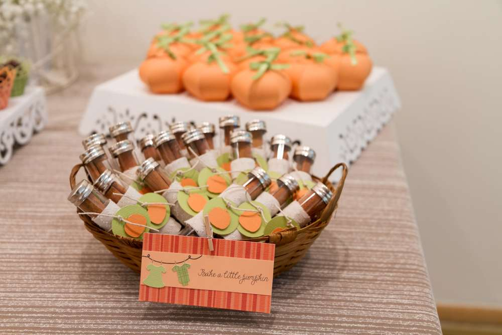 ... Festive Little Pumpkin Baby Shower Recipe ...