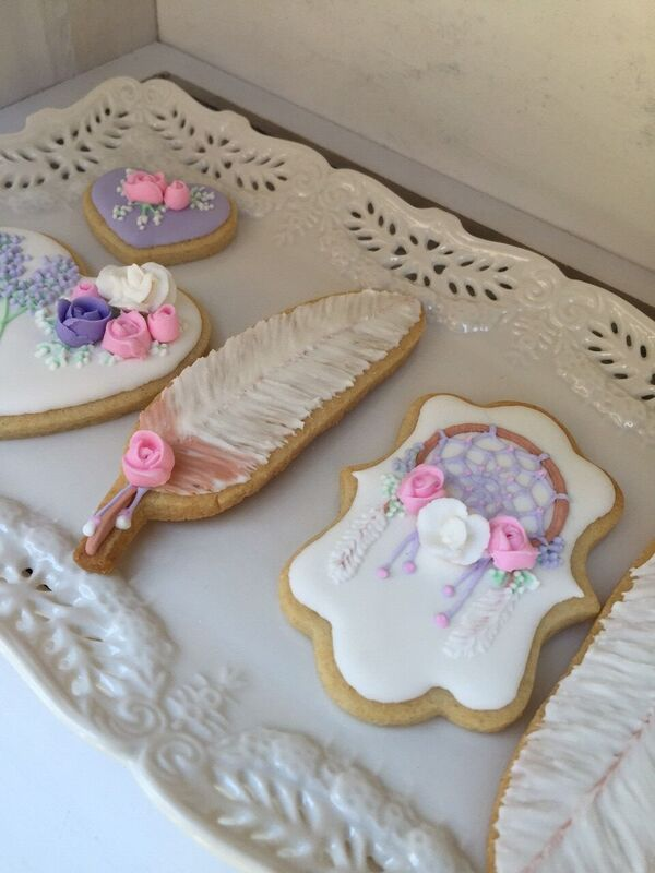 French Country Baby Shower Cookies