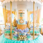 Golden Carousel Baby Shower