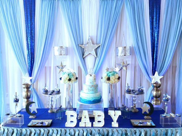 Starry Night Baby Shower Ideas Themes Games