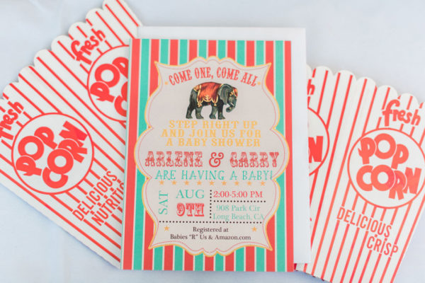 Classic Circus Baby Shower Baby Shower Ideas Themes Games