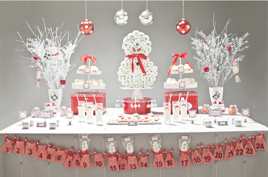 Great Fabulous Christmas Themed Baby Shower Ideas