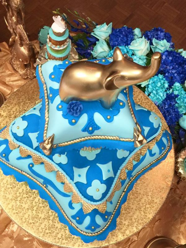 ... Royal Moroccan Prince Baby Shower Cake Topper ...