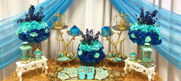 Royal Moroccan Prince Baby Shower