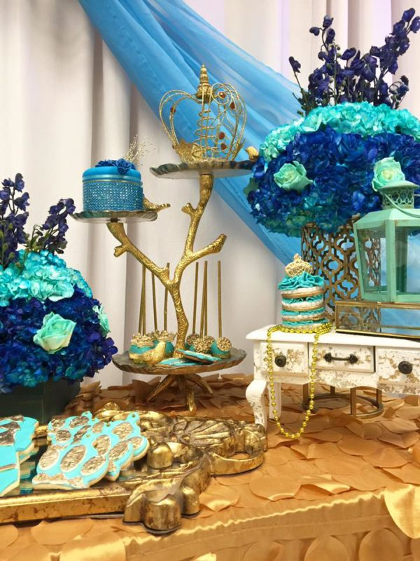 Royal Moroccan Prince Baby Shower - Baby Shower Ideas ...