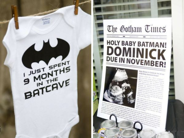 Batman Baby Shower Ideas Baby Shower Ideas Themes Games