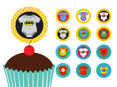 superhero-baby-shower-cupcake-toppers-and-labels