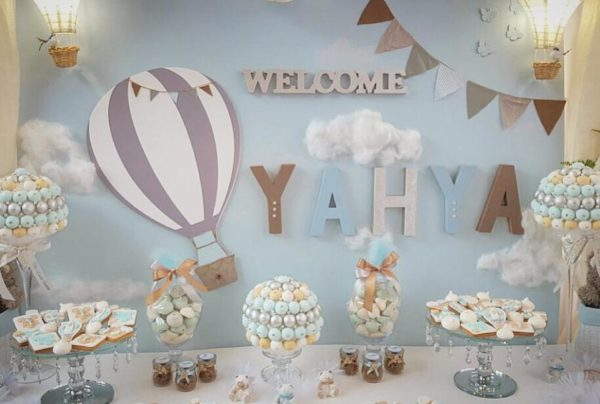 Air Balloon Themed Party Baby Shower Ideas Themes Games