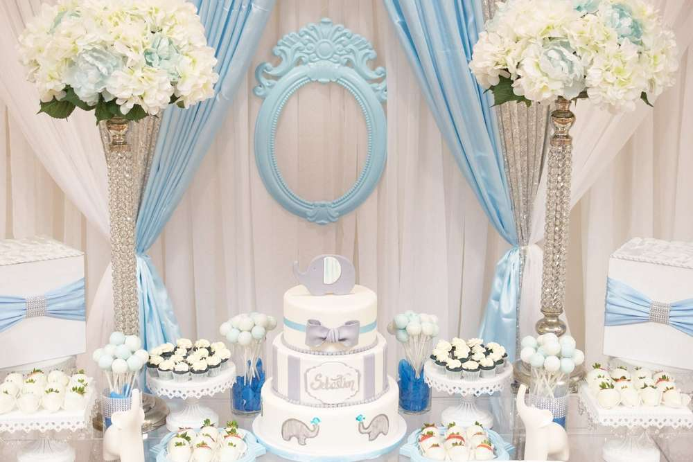 gallery cake ideas themed napkins for shower baby elephant