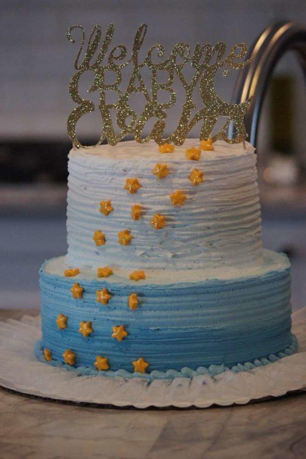 shimmering-twinkle-twinkle-baby-shower-cake
