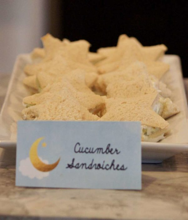 shimmering-twinkle-twinkle-baby-shower-cucumber-sandwiches