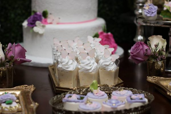 chic-floral-garden-baby-shower-pudding