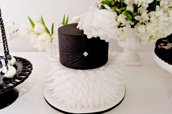 sophisticated-swan-lake-baby-shower-tiered-cake