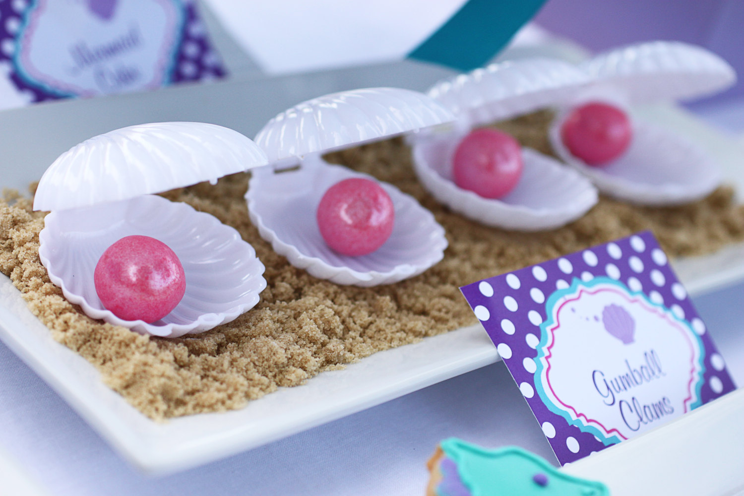 Ariel Inspired Little Mermaid Baby Shower Baby Shower Ideas