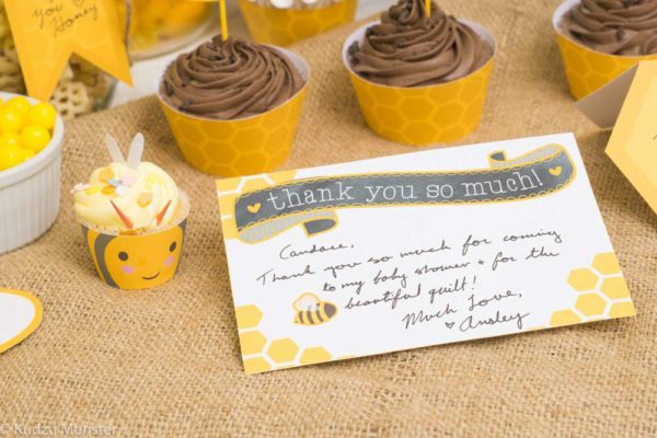 bumblebee-gender-reveal-baby-shower-thank-yous