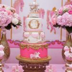 Carousel In Pink Baby Shower