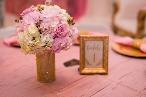 carousel-in-pink-baby-shower-flower-bouquets
