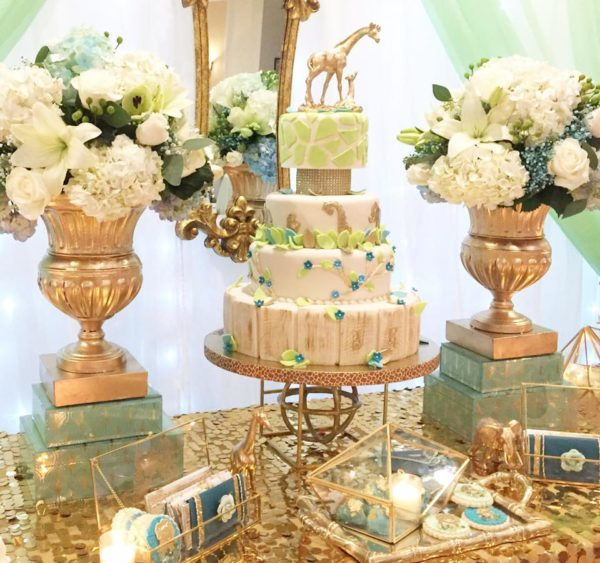 ... Safari Adventure Baby Shower Tiered Cake ...
