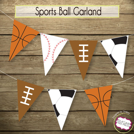sports baby shower decorations and party favors baby shower ideas themes games. Black Bedroom Furniture Sets. Home Design Ideas