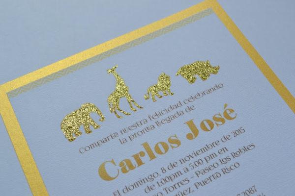 golden-chic-safari-baby-shower-invitations