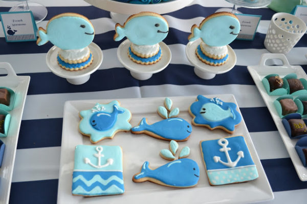 nautical-whale-baby-shower-sugar-cookies