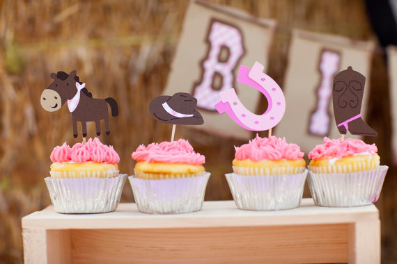 Cowgirl Baby Shower Decorations And Party Favors